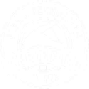 Piano tuning and repair certified technician